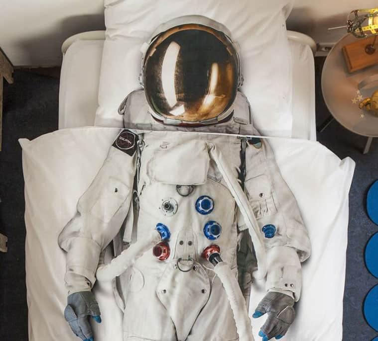 Snurk Astronaut Duvet Cover Cool Designer Bed Sheet
