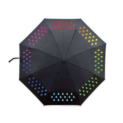 Suck UK Color Changing Umbrella Back Body