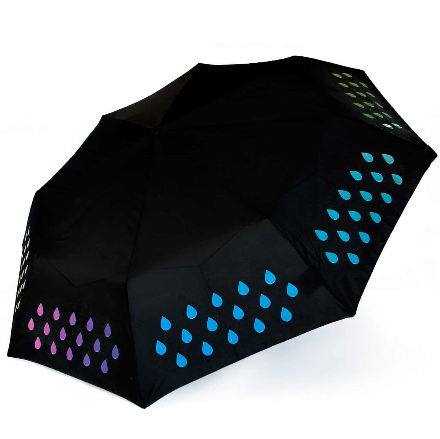 Suck UK Color Changing Umbrella Raibow Color