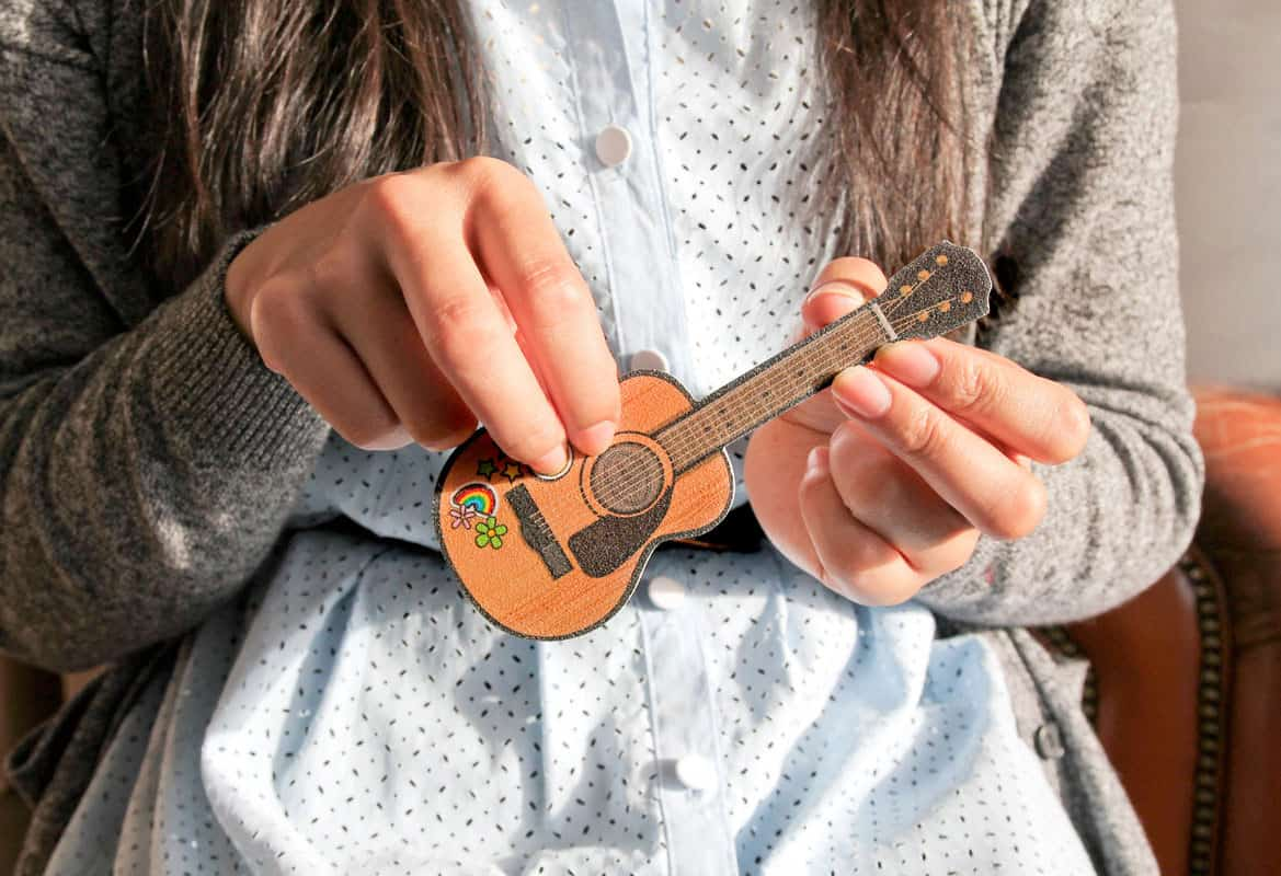 Suck UK Rockstar Guitar Nail Files Cool Gift to Buy Daughter