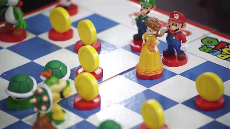 Super Mario Chess Collectors Edition Board Game Geek