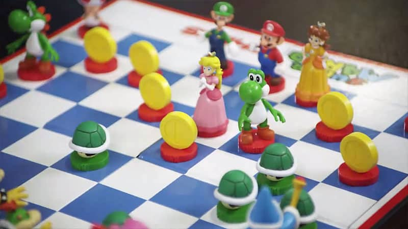 Super Mario Chess Collectors Edition Mario Luigi and Daisy