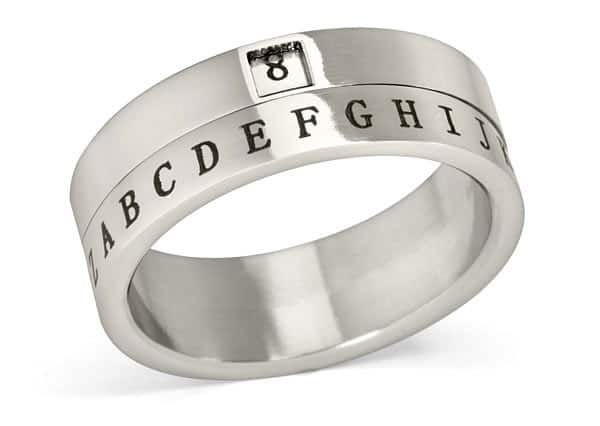 ThinkGeek Secret Decoder Ring Playful Novelty Item to Buy