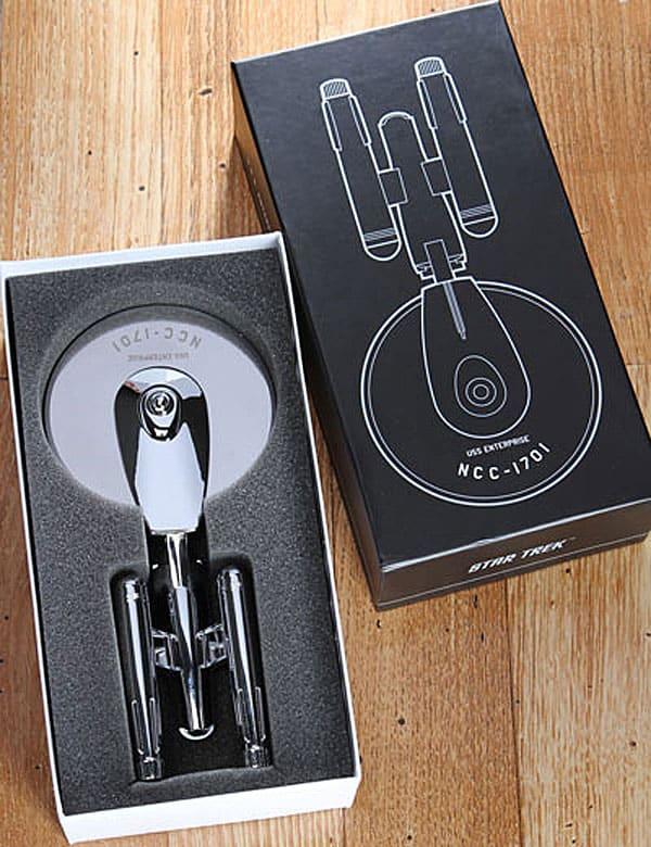 ThinkGeek Star Trek Enterprise Pizza Cutter Buy Cool Geek Gift