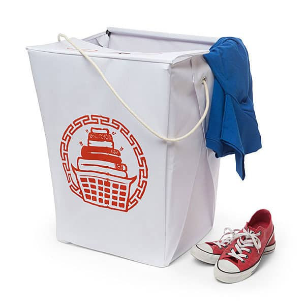 ThinkGeek Take Out Box Laundry Hamper Chinese Takeout Box Design
