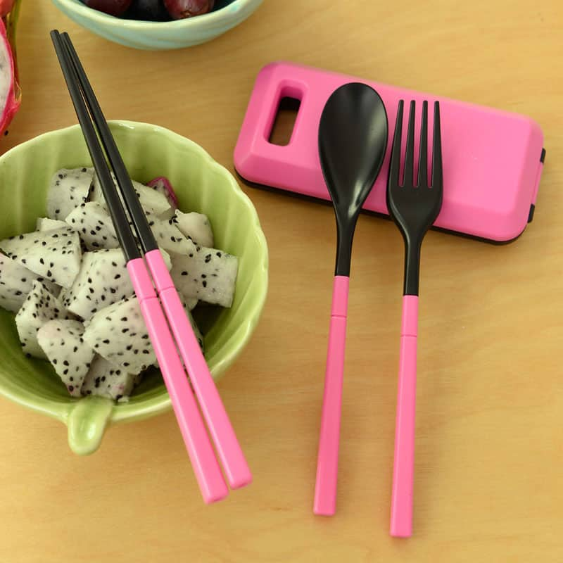 Travel Utensil Set Cute Gift For Her