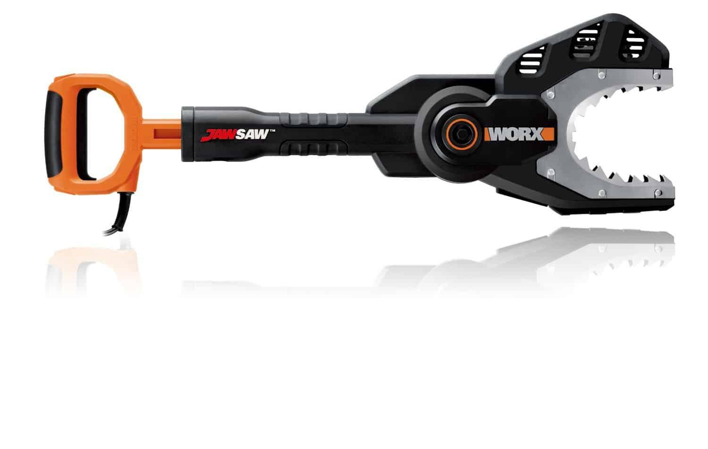 WORX JawSaw Electric Chainsaw Easy Branch Cutting