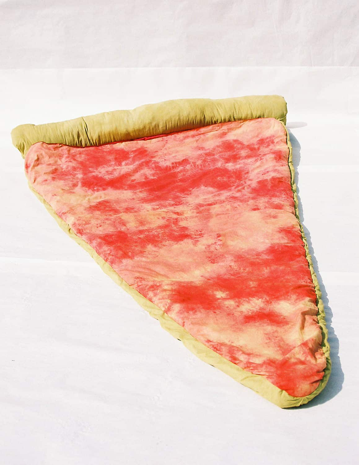 B Fiber and Craft Pizza Sleeping Bag No Toppings