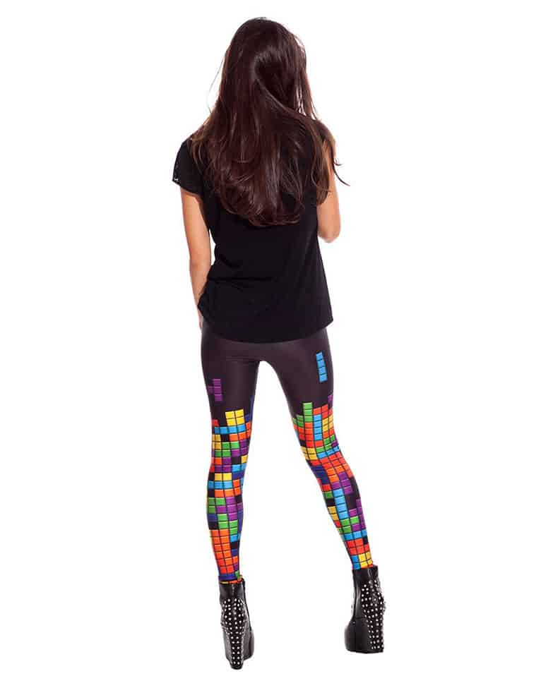 Bad Inka Tetris Leggings Retro Fashion