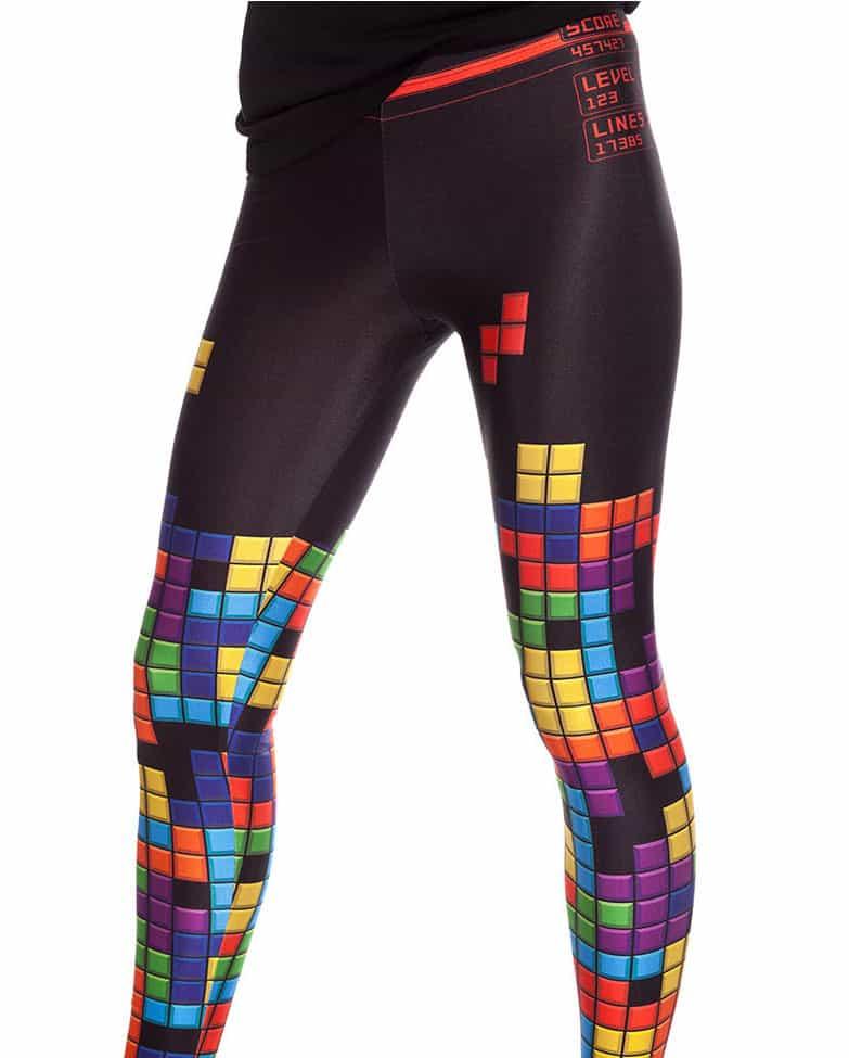 Bad Inka Tetris Leggings Video Game Fashion