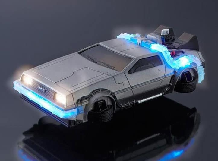 Great Scott! It's an iPhone time machine!