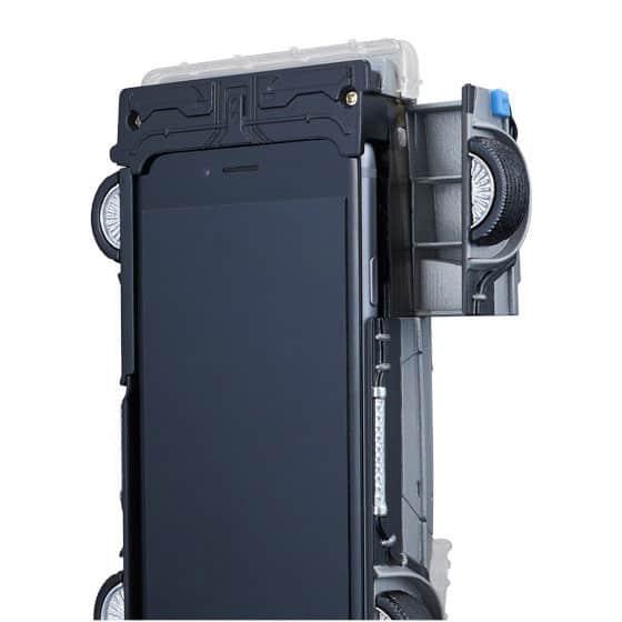 Bandai-Crazy-Case-DeLorean-Phone-Case-Bottom-View