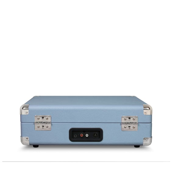 Crosley Cruiser Portable Turntable Blue Connection Sockets
