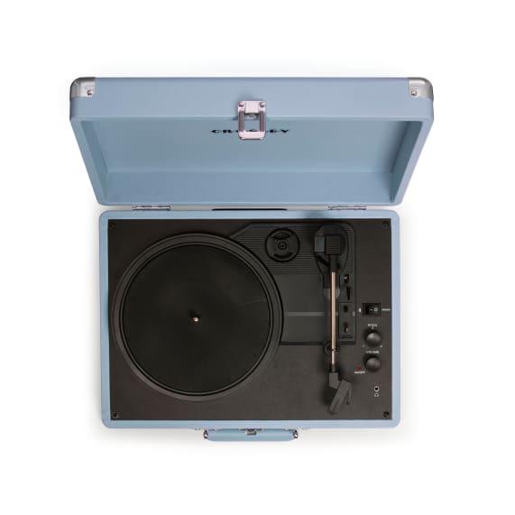 Crosley Cruiser Portable Turntable Blue Top View