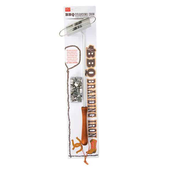 DCI BBQ Branding Iron Packaging Design