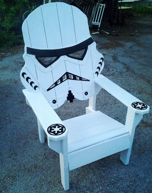 Emmanddoubleyas Storm Trooper Chair Star Wars Furniture
