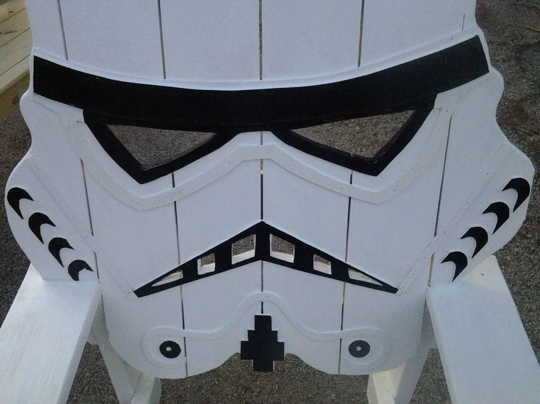Emmanddoubleyas Storm Trooper Chair Wooden Furniture