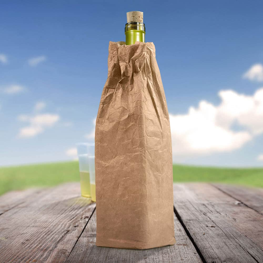 Street smart bottle bag.