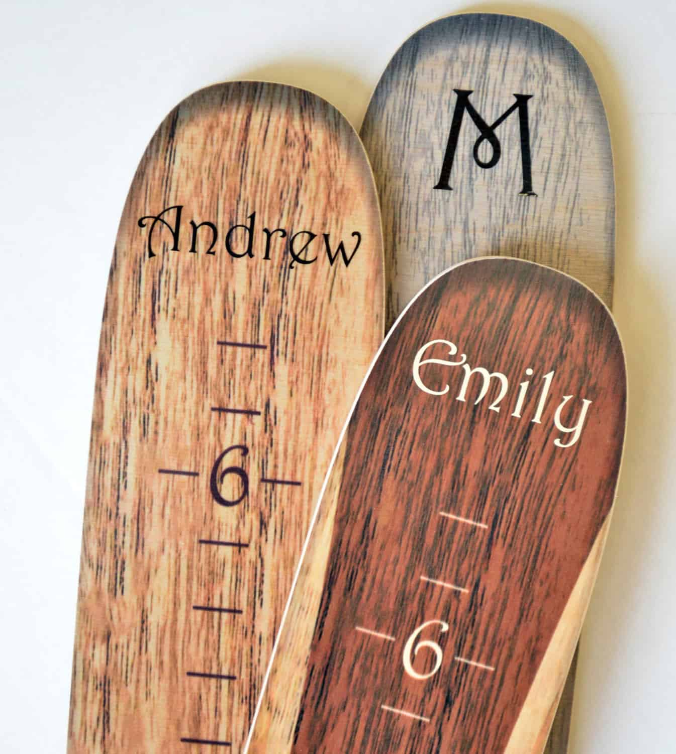 Growth chart art wooden ski growth chart noveltystreet you can also request your childs name to be printed on top for free upon order to make it more personalized an ideal baby shower and house warming gift nvjuhfo Choice Image
