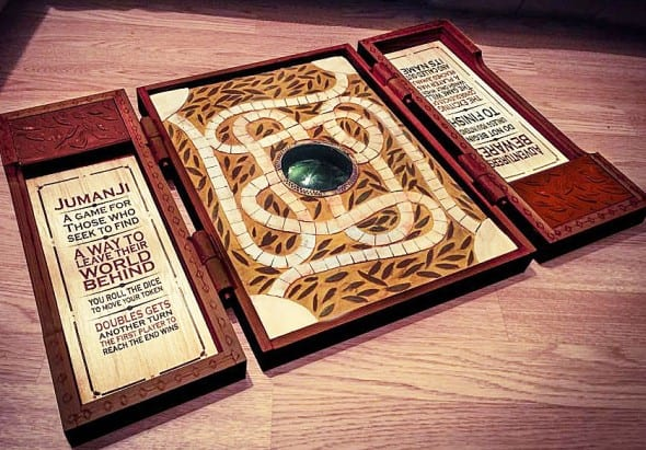 Jumanji Game Board Replica Cool Movie Props to Buy
