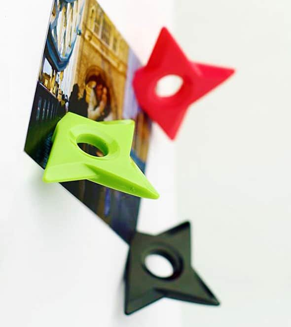 Megawing Shuriken Magnet Cool Manly Gift Idea