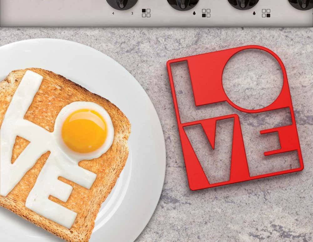 Fry your eggs with love!