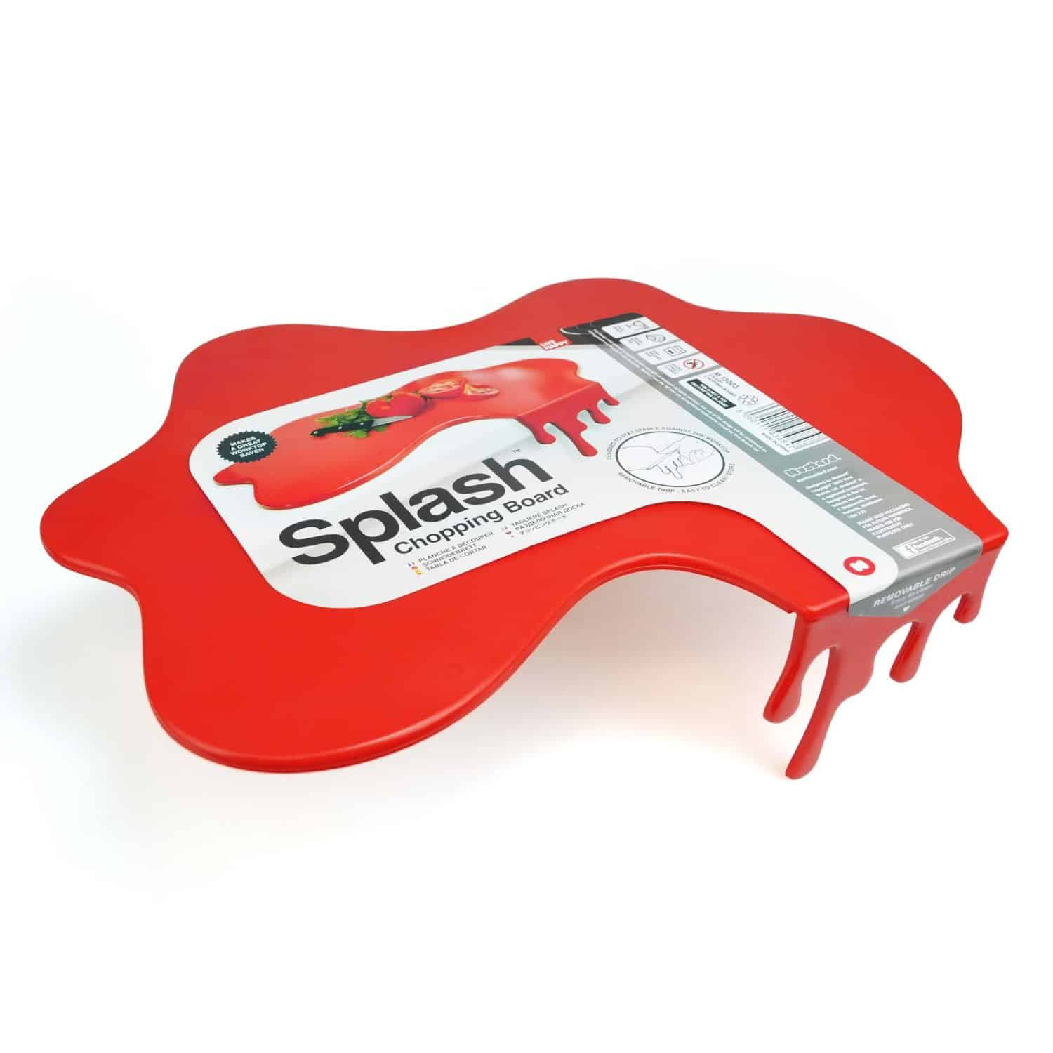 Mustard Splash Chopping Board  Cute Novelty Gift Idea