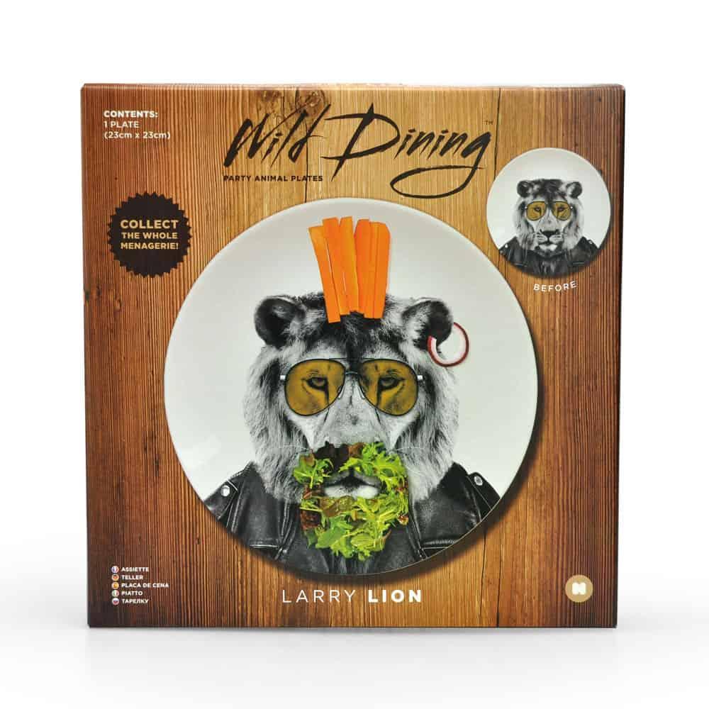Mustard Wild Dining Dinner Plate  Box