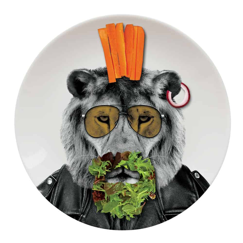 Mustard Wild Dining Dinner Plate  Play with your Food