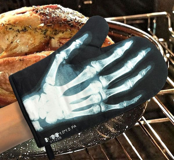 Mustard X-Ray Glove Dad Gift Idea