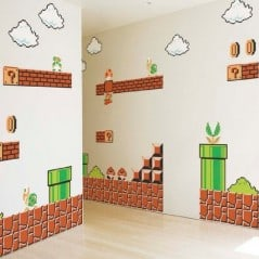 Super Mario on my wall!