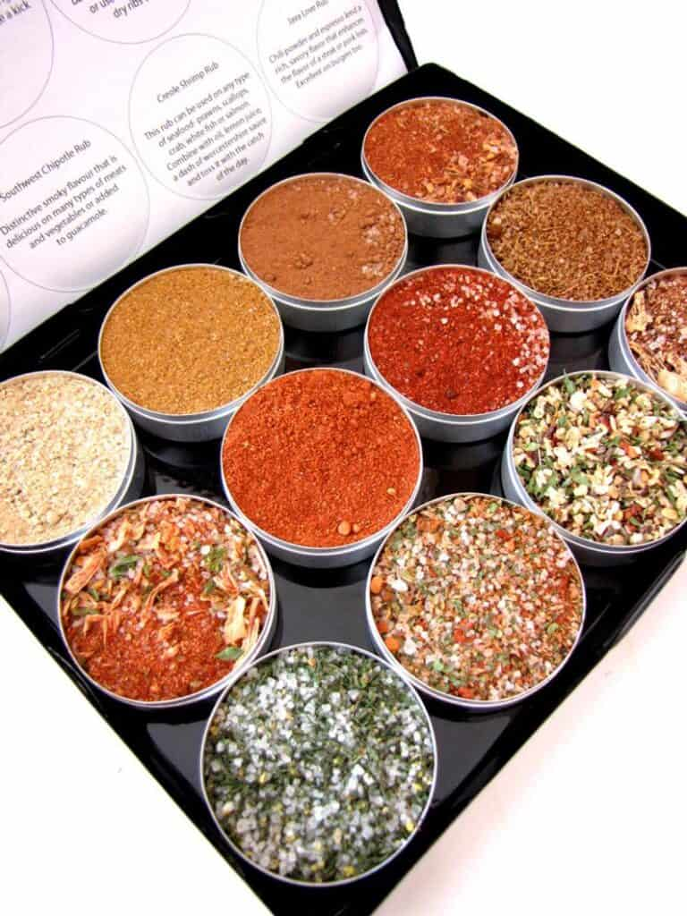 Purpose Design Gourmet BBQ Dry Rubs Box Inside Detail