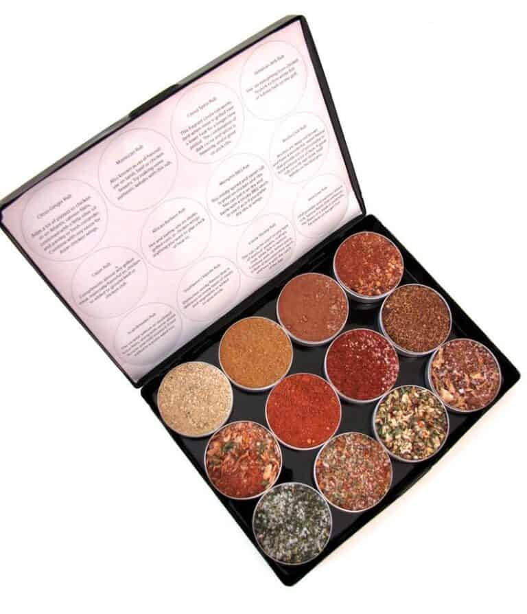 Purpose Design Gourmet BBQ Dry Rubs Box Spice Details