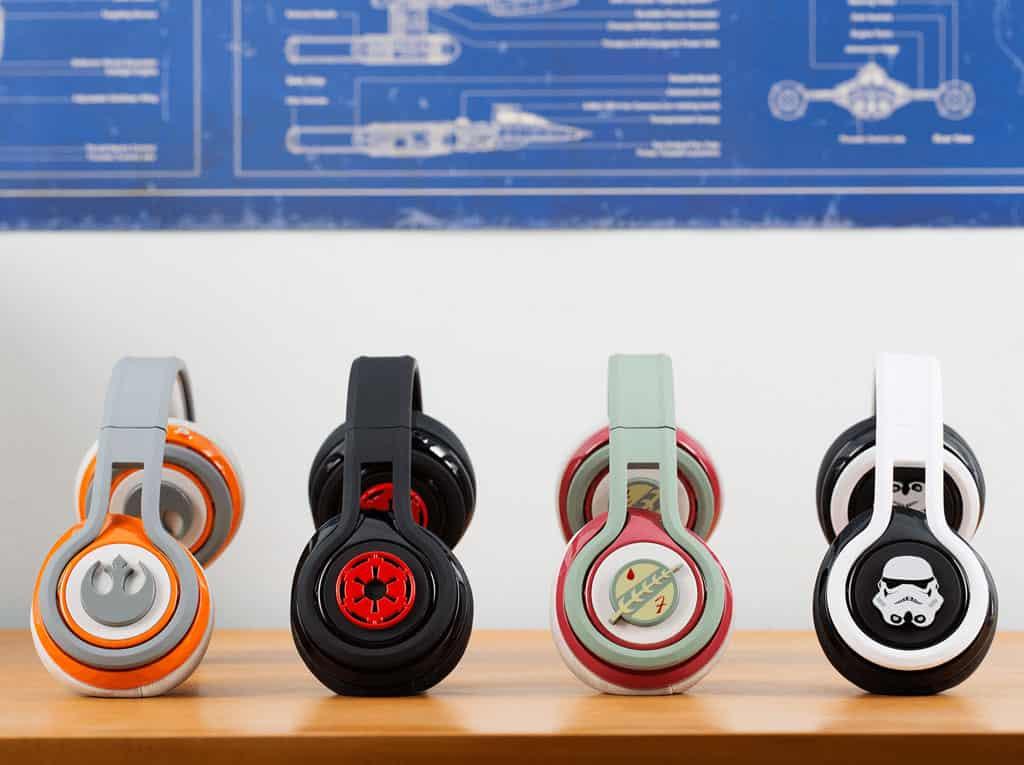 SMS Audio First Edition Star Wars Headphones Sci Fi Geek Design