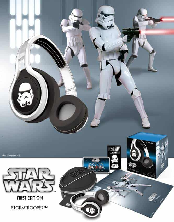 SMS Audio First Edition Star Wars Headphones Storm Trooper