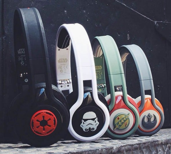 SMS Audio First Edition Star Wars Headphones Tech Gift Idea