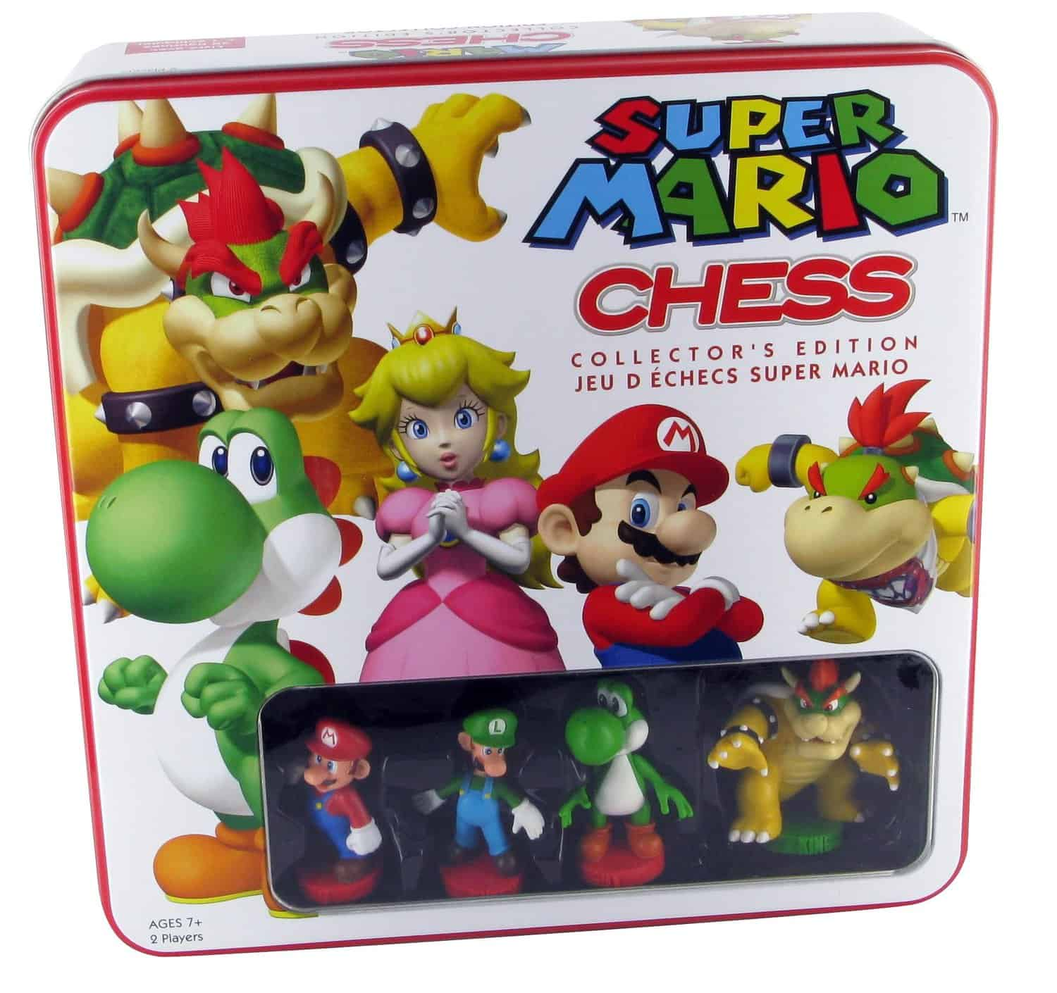 Super Mario Chess Collectors Edition Tin Box