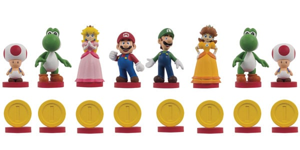 Super Mario Chess Collectors Edition White Pieces