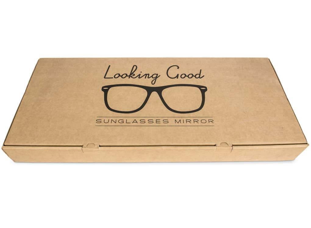 Thabto Looking Good! Sunglasses Mirror Brown Box