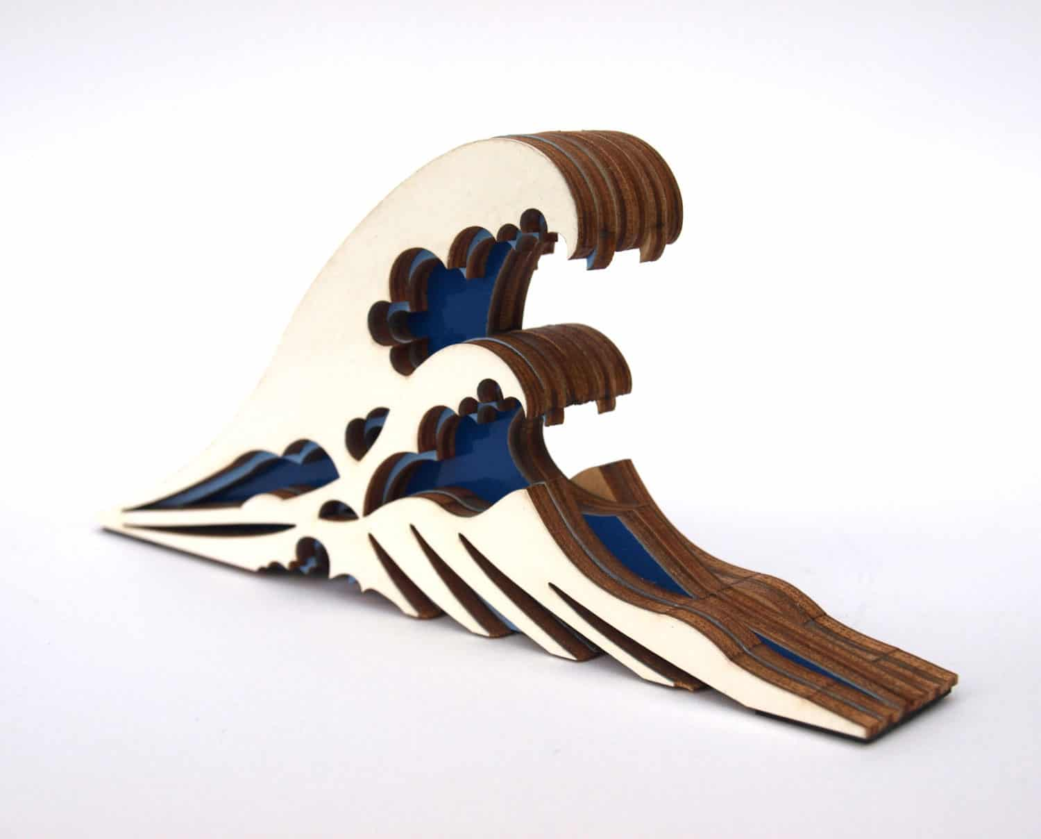 The Great Wave Off Kanagawa Doorstop by Clive Roddy Ocean Theme