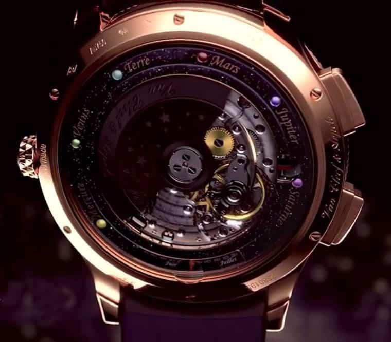 Van Cleefe & Arpels Midnight Planétarium Timepiece Cool Technology