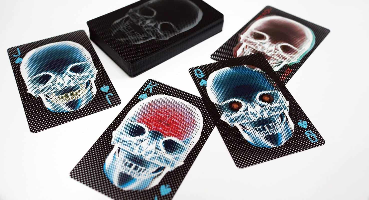 Waku Design X-Ray Deck of Cards Novelty Item