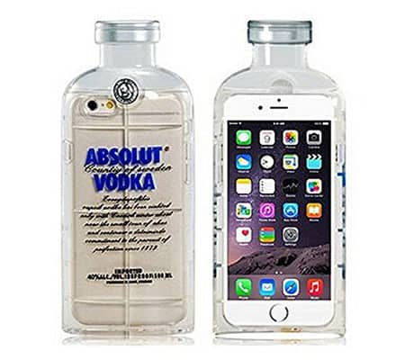 Absolut Vodka iPhone Soft Cover Gift Idea for Him