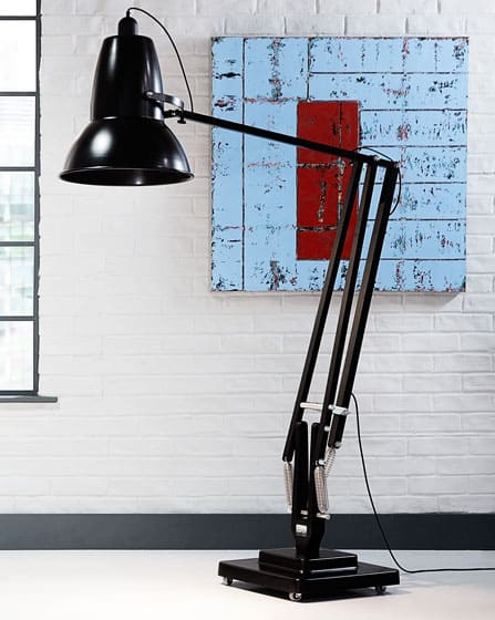 Anglepoise Giant 1227 Floor Lamp Black Big Lighting