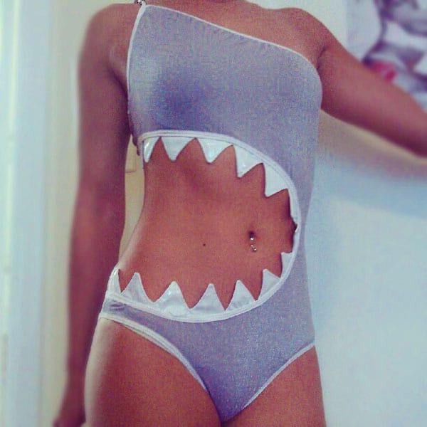 Bad Aby Design Sharktini Cool Swimwear