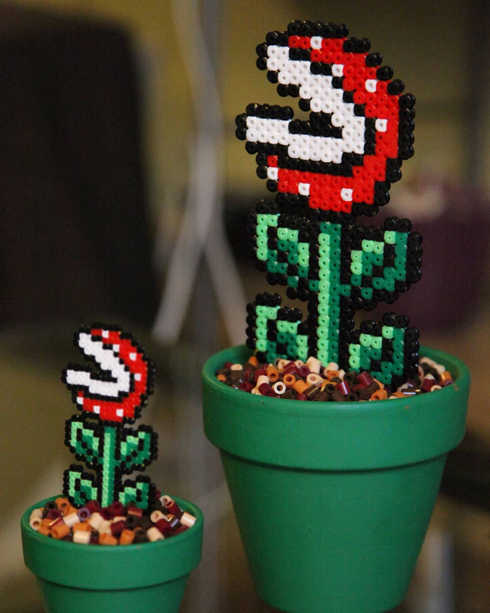 Bead x Bead Super Mario Potted Piranha Plant Buy for Geek Boyfriend