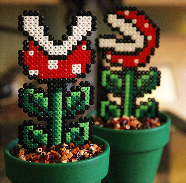 Bead x Bead Super Mario Potted Piranha Plant Cool Geek Desktop Design