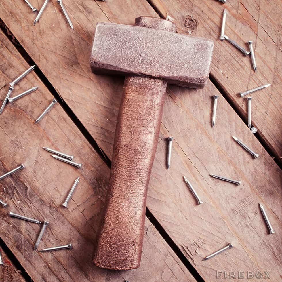 Chocolate Tools Hammer Cool Boyfriend Gift Idea