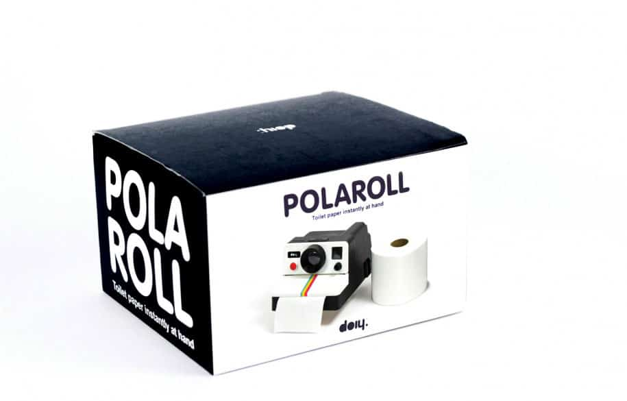 DOIY Polaroll Toilet Paper Roll Holder Box