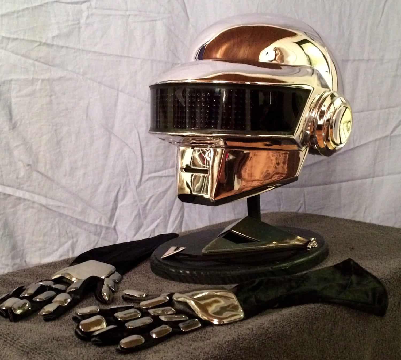 Daft Punk Guy Manuel Led Helmet Full Set